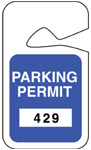 Rearview Mirror Hanging Tags